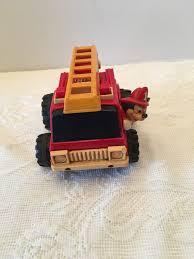 100 Mickey Mouse Fire Truck Walt Disney Prod Illco Toy Co Thailand Etsy