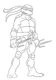 Full Image For Tmnt Coloring Pages Free Of Ninja Turtles Raphael