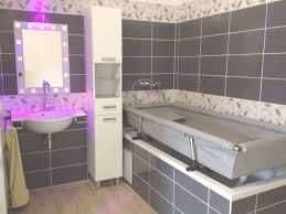 salle de bain 3d avec accessibilité pour personnes à mobilité