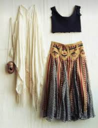 Boho Look Selena Gomez Inspired Indie Gypsy Hippy Music Festival Style Fashion Sweater Crop Top Maxi Skirt