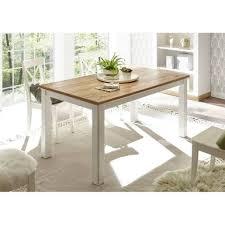 lomadox esstisch 61 landhaus esszimmer tisch in pinie weiß wotan eiche nb b h t ca 158 76 88 cm kaufen otto