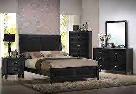 Bedroom Set – Modern – Eaton Walnut 5 Piece Queen – Modern Retailers