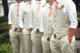 Love The Sand And Pink Combo Rustic Country Wedding Ideas Groomsmen Attire