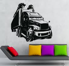 Home Decoration Wall Sticker Vinyl Decal Cool Car Truck For Kids ...
