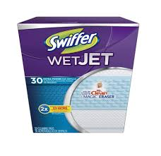 amazon com swiffer wetjet spray mop antibacterial floor cleaner
