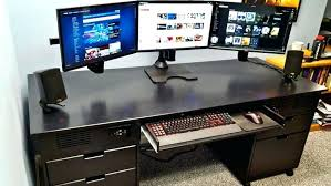 Pc Desk Case Man Builds The Ultimate Case Desk Hybrid Pc Desk Case