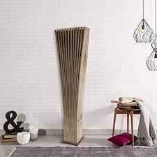 holzwert palmen fächer stehle premium dekoration