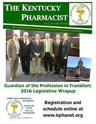 Ky Revenue Cabinet Forms by The Kentucky Pharmacist Vol 11 No 3 By Kentucky Pharmacists
