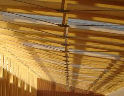 100 Bow String Truss SUNSET ROOF CROPPED Wood Awards