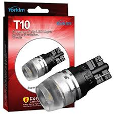 194 led light bulb yorkim t10 wedge high power 1w