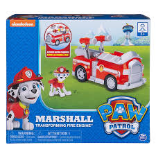 99 Amazon Truck Parts Paw Patrol Marshalls Transforming Fire With Popout