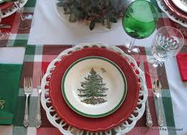 Spode Christmas Tree Platter by Confessions Of The Obsessed Obsession Number Five