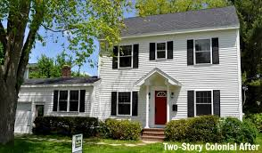 Pictures Small Colonial House by Turning A Small Ranch Into A Two Story House Hooked On Houses