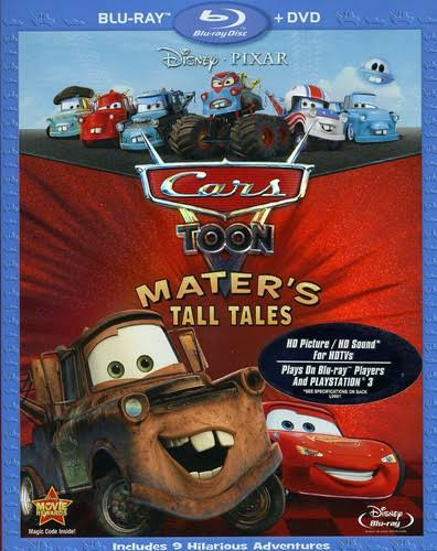 Cars Toon Mater's Tall Tales Blu-Ray & DVD