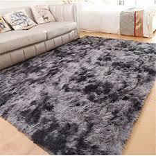 songhj polyester plüsch teppich einfache rechteck wasseraufnahme rutschfeste matte home wohnzimmer schlafzimmer dekorative teppich d 160x200 cm