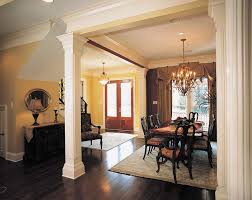 Pillars For Home Decor Dining Room Designs With Cortese Living Rooms