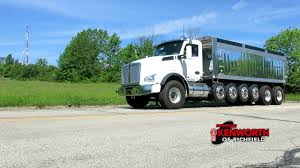 100 Kenworth Dump Truck For Sale T880 7 Axle 205490R _ SOLD