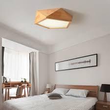 neue schlafzimmer le einfache moderne holz neue wohnzimmer le led japanischen massivholz le nordic log geometrische decke le