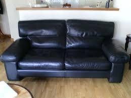 canape duvivier canapé cuir noir duvivier meuble d occasion mymobilier