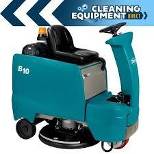 tennant b10 battery rider floor burnisher machines