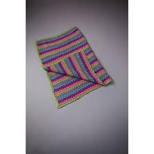 Free Pattern Crochet Granny Stripe Blanket Hobbycraft