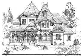 Victorian House Coloring Pages Free Detail Description
