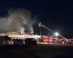 100 Ra Warehouse Project Fire Damages New Bern Beer Distributor Warehouse News New Bern