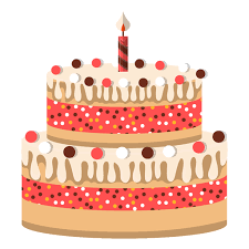 Two floors birthday cake icon Transparent PNG