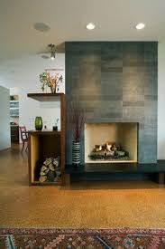 contemporary fireplace tile brucall