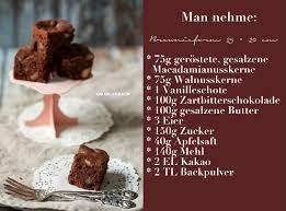 rezept brownies mit gesalzenen macadamia nüssen und