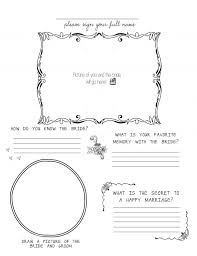 DIY Free Printable For Bridal Shower Or Bachelorette Guestbook