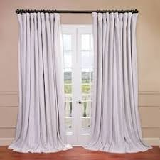 White Blackout Curtains Kohls by Exclusive Fabrics Signature White Double Layer Sheer Curtain Panel