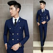 Double Breasted Formal Wear