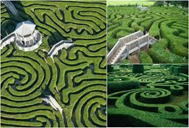 Masterpieces of landscape art natural mazes