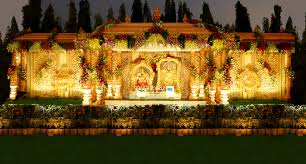Wedding Stage Flower And Reception Decorations In Hyderabad 113