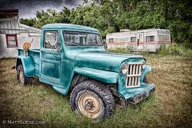 Old Jeep Pickup & Cat