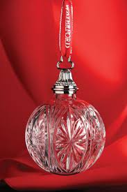 Dillards Christmas Tree Ornaments by 364 Best Waterford Crystal Ornaments Images On Pinterest
