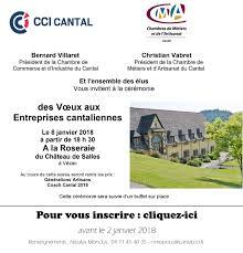 inscription chambre de commerce voeux des entreprises cantaliennes cci cantal