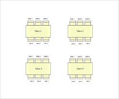 table seating chart template u2013 14 free sample example format