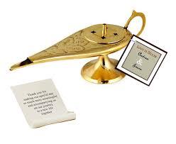 gold aladdin genie l incense message holder hansonellis com