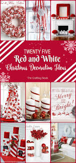 25 Red And White Christmas Decoration Ideas CHRISTMAS TIME