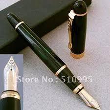 fontaine de bureau jinhao plume large 18kgp fontaine stylo or vert noir livraison