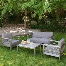 Patio Conversation Sets Canada by Shop Best Selling Home Decor Mililani 4 Piece Aluminum Patio