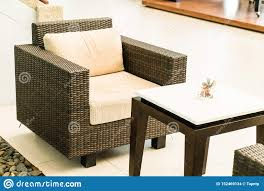 Patio Deck And Chair Stock Photo. Image Of Back, Building ...