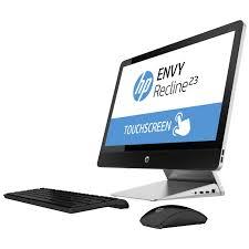 ordinateur de bureau hp tout en un hp envy recline 23 k440nf pc de bureau hp sur ldlc com