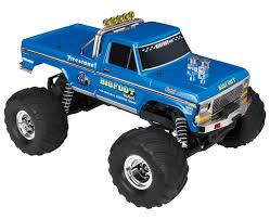 Traxxas BIGFOOT No.1 2WD 1/10 Scale RC Truck (36034-1) - Blue : RC ... Traxxas Nitro Sport Stadium Truck For Sale Rc Hobby Pro 116 Grave Digger New Car Action 110 Scale Custom Built 4linked Trophy Adventures Traxxas Summit Running Video 4x4 With Erevo Brushless The Best Allround Car Money Can Buy Bigfoot No1 2wd 360341 Blue Big Foot Monster Toys R Us Australia Join Trucks For Tamiya Losi Associated And More Dude Perfect Edition Garage Bj Baldwins
