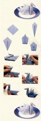 Paper Napkin Folding Instructions Create Festive Tischedeko