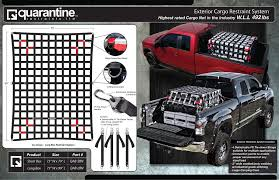 Exterior Cargo Restraint System With Better Protection ... Accessory Pack For Your Cargo Nets Quarantine Restraints Best 25 Truck Bed Accsories Ideas On Pinterest Toyota Truck 19972017 F150 Covercraft Pro Runner Tailgate Net Excluding Pickup Atamu Amazoncom Highland 9501300 Black Threepocket Storage Heavy Duty Short Bed Sgn100 By 4x6 Super Bungee Keeper 03141 Zipnet Adjustable Camo Haulall Atv Rack System Holds 2 Atvs Discount Ramps 70 X 52 The Best Rhino Lings Milton Protective Sprayon Liners Coatings And