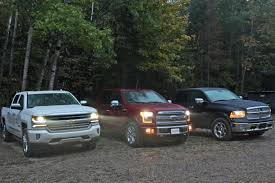 2016 Ford F-150 Vs Ram 1500 EcoDiesel Vs Chevy Silverado - AutoGuide ... 2019 Chevy Silverado How A Big Thirsty Pickup Gets More Fuelefficient 2017 Ram 1500 Vs Toyota Tundra Compare Trucks Top 5 Fuel Efficient Pickup Grheadsorg 10 Best Used Diesel And Cars Power Magazine Fullyequipped Tacoma Trd Pro Expedition Georgia 2015 Chevrolet 2500hd Duramax Vortec Gas Pickup Truck Buying Guide Consumer Reports Americas Five Most Ford F150 Mileage Among Gasoline But Of 2012 Cporate Average Fuel Economy Wikipedia S10 Questions What Does An Automatic 2003 43 6cyl