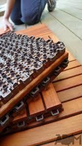 interlocking deck tiles engineered polymer series interlocking